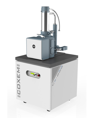 CX-200plus full-size SEM with automated 5-axis XYZRT stage
