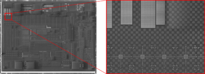 Panorama Mode Image Example - Desktop SEM