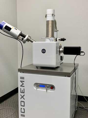 PM-100 Plasma Cleaner on CX-200plus SEM